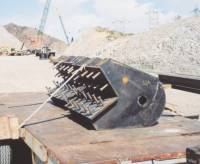 crane sheave brackets