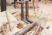 welded chiller pipe